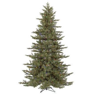 Vickerman Austrian Fir Pre Lit Multi Colored LED Christmas Tree   Christmas Trees