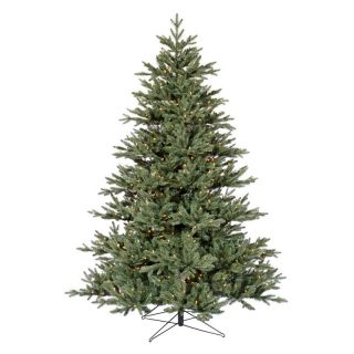 Blue Noble Fir Pre lit Christmas Tree   Christmas