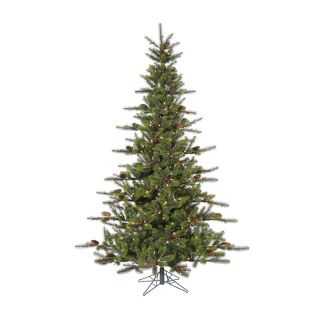 Timbercrest Spruce Pre Lit Christmas Tree   Christmas Trees
