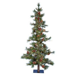 Kurt Adler 7 ft. Big Cone Needle Pine Pre Lit Christmas Tree   Christmas Trees