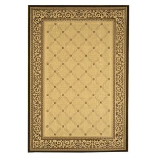 Safavieh Courtyard 1502 Indoor/Outdoor Area Rug   Brown   Area Rugs