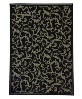 Safavieh Courtyard 2653 Indoor/Outdoor Area Rug   Black   Area Rugs