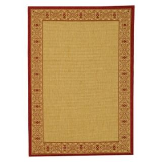 Safavieh Courtyard 2099 Indoor/Outdoor Area Rug   Red   Area Rugs