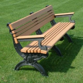 Cambridge Commercial Grade Park Bench   Outdoor Benches