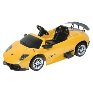 Lamborghini Murcielago Yellow Riding Car   Battery Powered Riding Toys