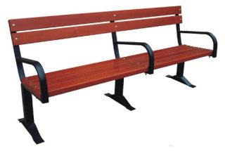 Commercial Grade Park Bench   Outdoor Benches