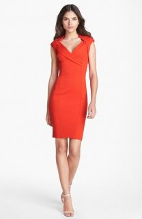 Ted Baker London Crossover Stretch Body Con Dress