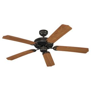 Sea Gull Lighting Quality Max Energy Listed Heirloom Bronze 5 blade Ceiling Fan Sea Gull Lighting Ceiling Fans