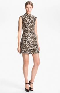 Alice + Olivia Leopard Print Dress