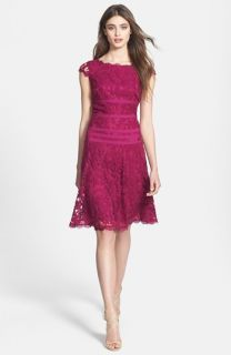 Adrianna Papell Lace Fit & Flare Dress (Regular & Petite)