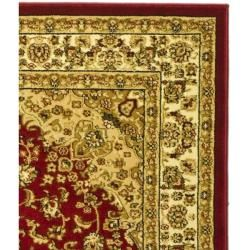 "Lyndhurst Collection Traditional Red/Ivory Runner (2'3"" x 6') Safavieh Runner Rugs"