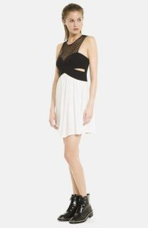 sandro Rubis Empire Waist Dress
