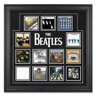 The Beatles Framed Album Cover Collage   Frontgate   Home Decor Products