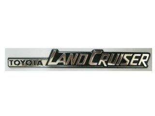 TOYOTA LAND CRUISER Cover Car Plastic Coating By Chrome Badge Emblem 3d Logo