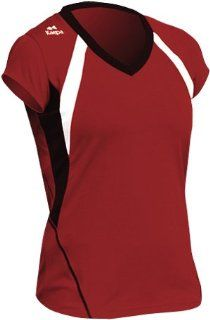 Kaepa 8872 Block Custom Volleyball Jerseys RED/BLACK/WHITE WL Sports & Outdoors