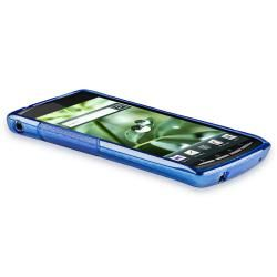 Frost Blue S Shape TPU Rubber Case for Sony Ericsson Xperia X12 Arc BasAcc Cases & Holders