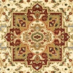 Lyndhurst Collection Ivory/ Red Rug (9' x 12') Safavieh 7x9   10x14 Rugs