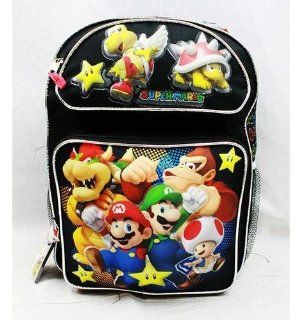 Medium Backpack   Nintendo   Super Mario Bros   Black Toys & Games