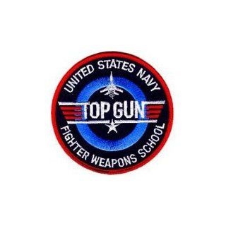 "United States Navy ""Top Gun"" Fighter Weapons School Patch USN NAVY Iron on Sew Applique Embroidered patches Arts, Crafts & Sewing"