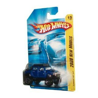 "Hot Wheels 164 Diecast car ""2008 NEW MODELS"" HUMMER H2 SUT BLUE 15 OF 40 (08 015/196) Toys & Games"