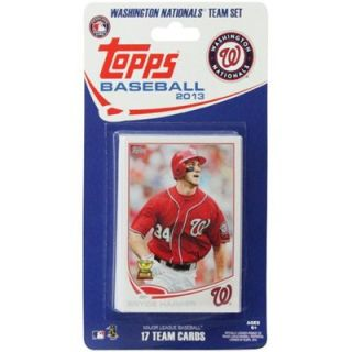 Washington Nationals 2013 Team Collectible Trading Card Set