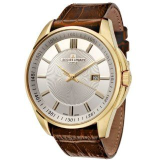 Jacques Lemans Men's GU199N Geneve Collection Tempora Gold Ion Plated Stainless Steel Watch Watches
