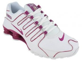 Womens Nike Shox NZ Running Shoes White / Rave Pink 314561 196 Size 7.5 Sports & Outdoors