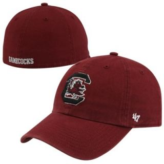 47 Brand South Carolina Gamecocks Franchise Fitted Hat   Garnet