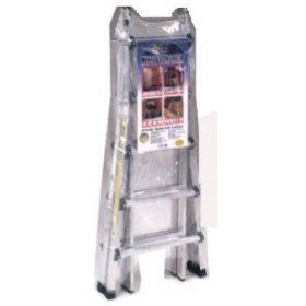 Cosco 20 221T1AS 21 Foot Multi Position Aluminum Folding Ladder   Extension Ladders