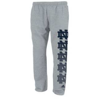 adidas College Fleece Pants   Mens   Basketball   Clothing   Notre Dame Fighting Irish   Grey