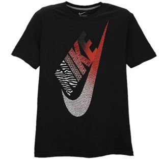 Nike Graphic T Shirt   Mens   Casual   Clothing   Black/Red/White