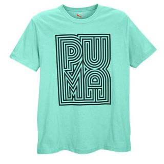PUMA Graphic T Shirts   Mens   Casual   Clothing   Electric Green/Black