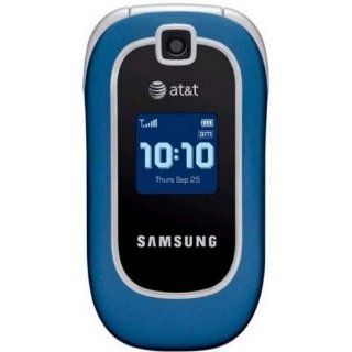 Samsung SGH A237 Blue No Contract AT&T Cell Phone Cell Phones & Accessories