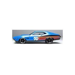 Hot Wheels 2013 242 '72 Ford Gran Torino Sport Blue Variant Toys & Games