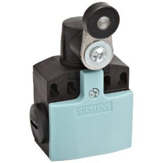 Siemens 3SE5 242 0LK21 Mechanical Position Switch, Complete Unit, Plastic Enclosure, 50mm Width, Twist Lever, 21mm Metal Lever, 19mm Plastic Roller, Snap Action Contacts, 1 NO + 2 NC Contacts