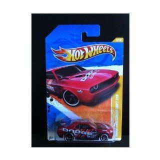 Hot Wheels 2011 New Models Dodge Challenger Drift Car RED 6/50 (6/244) Toys & Games