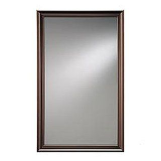 Broan Nutone 625N244BZP Framed Hampton Bath Cabinet, Oil rubbed Bronze