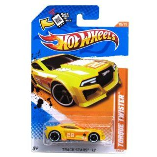Hot Wheels   Torque Twister (Yellow)   Track Stars 12   15/15 ~ 80/247 [Scale 164] Toys & Games