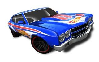 Hot Wheels   '70 Chevelle SS (Blue)   HW Racing 12   2/10 ~ 172/247 [Scale 164] Toys & Games