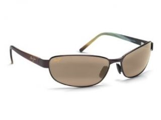 Maui Jim H256 19M Matte Espresso Napili Rectangle Sunglasses Polarised Fishing, Clothing