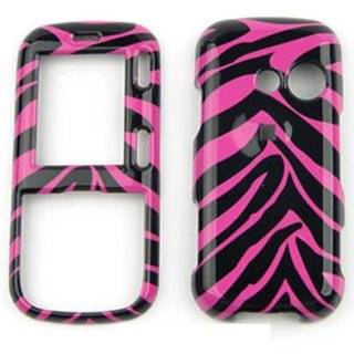 For Lg Rumor2 / Cosmos Lx 265 Pink Black Zebra Case Accessories Cell Phones & Accessories