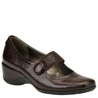 Naturalizer Women's Gable Mary Jane,Black Leather,12 WW US Shoes