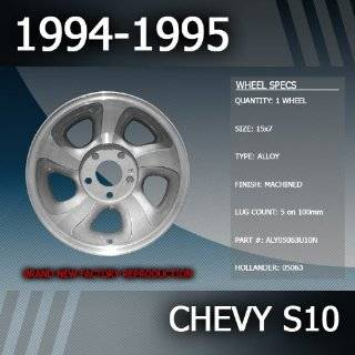 "1994 1995 Chevy S10 Factory 15"" Replacement Wheel Automotive"