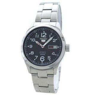 Stainless Steel Case and Bracelet Automatic Black Dial Day Date Display Watches
