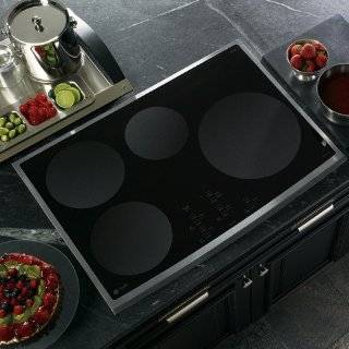 "GE PHP900SMSS Profile 30"" Stainless Steel Electric Induction Cooktop Appliances"