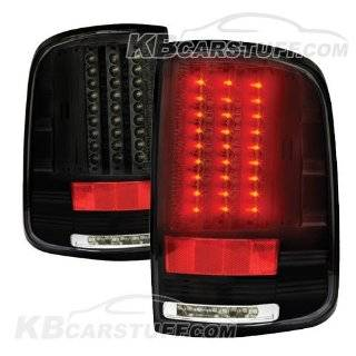 04 08 Ford F150/F250 LED Tail Lights   Bermuda Black Automotive