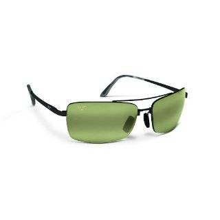 Maui Jim Black Rock Gunmetal Black HT218 02 Polarised Clothing