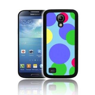 'POLKASPOTS LIGHT BLUE' Exclusive Fitted TPU Silicone Gel Skin for SAMSUNG GALAXY S4 MINI Case Cover   Shock Resistant Cell Phones & Accessories