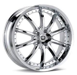 "Enkei LF 10  Luxury Series Wheel, Chrome (20x8.5""   5x120, 40mm Offset) One Wheel/Rim Automotive"