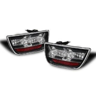 Spyder Chevy Camaro 10 12 LED Tail Lights   Black Automotive
